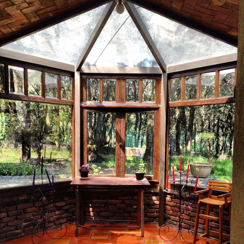 Casa de tlalpuente construccion a base de ladrillo y - Construccion casas de madera ...
