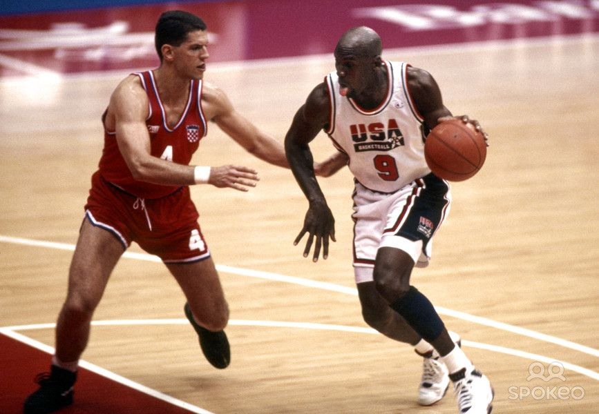 michael jordan 1992 olympic jersey i had a replica of this in grade school probably worth a. Black Bedroom Furniture Sets. Home Design Ideas