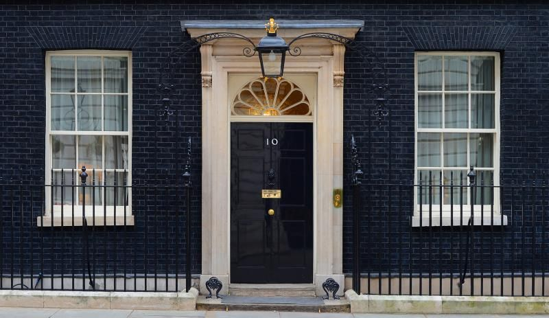 10 Downing Street,official residence and office of the First Lord of the Treasury for nearly 300 years.  This post is held by the Prime Minister of the UK since 1905.