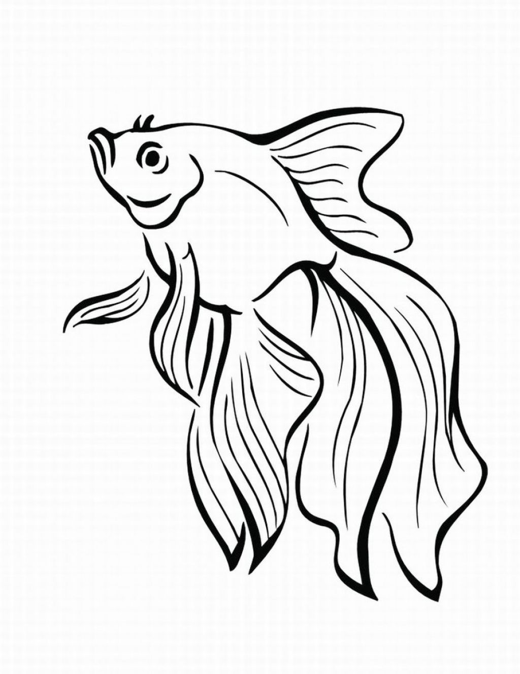Fish Coloring Pages Printable Coloring Pages Of Fish Pictures 2