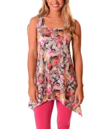 Look what I found on #zulily! Pink Meadows Sidetail Top - Plus #zulilyfinds
