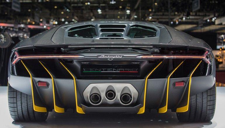 Lamborghini Centenario LP 770-4 | The 12 Most Amazing Cars That Debuted at the Geneva Auto Show [SLIDESHOW]