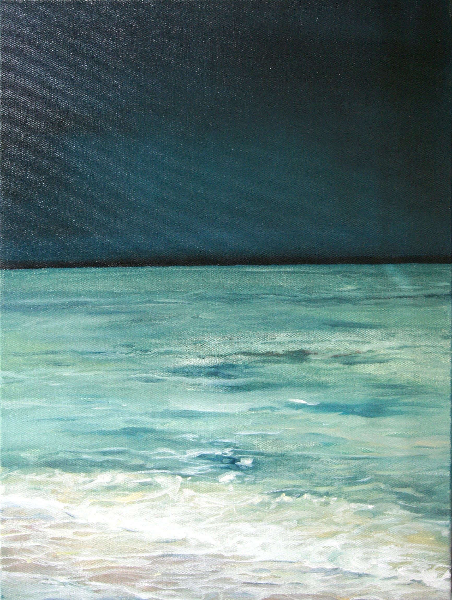 Before The Storm Seascape Landscape Ocean Painting Original Oil Painting Beach Painting 24x18 By Wiol Beach Painting Ocean Painting Original Oil Painting