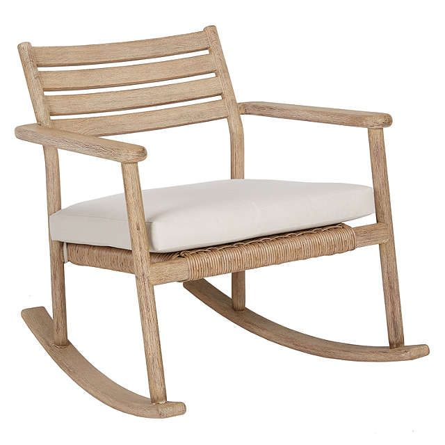 BuyJohn Lewis Croft Collection Islay Garden Rocking Chair Online at johnlewis.com
