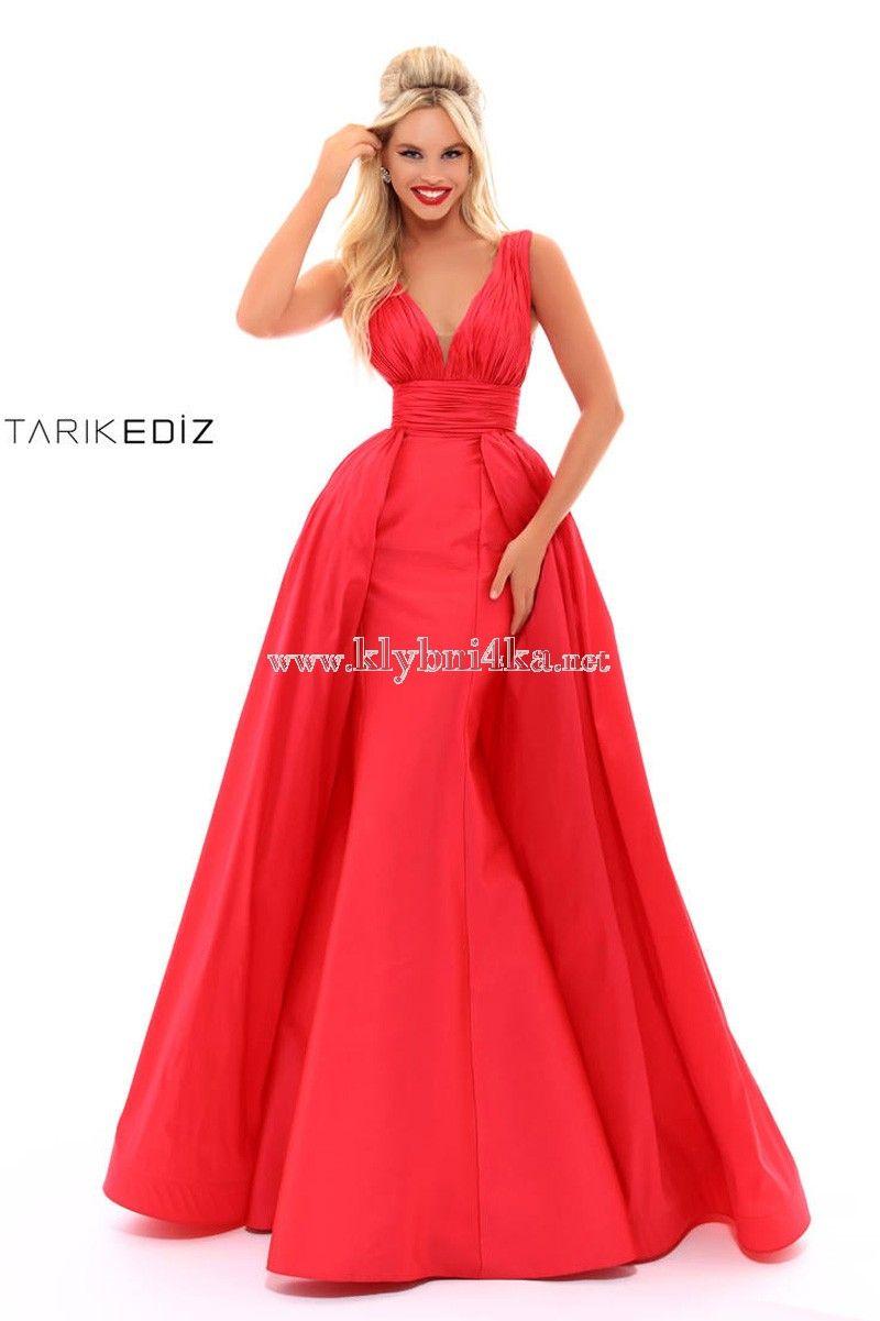 1b898d1b09f Платье для королевы выпускного вечера Tarik Ediz 50243  reddresses   eveningdresses