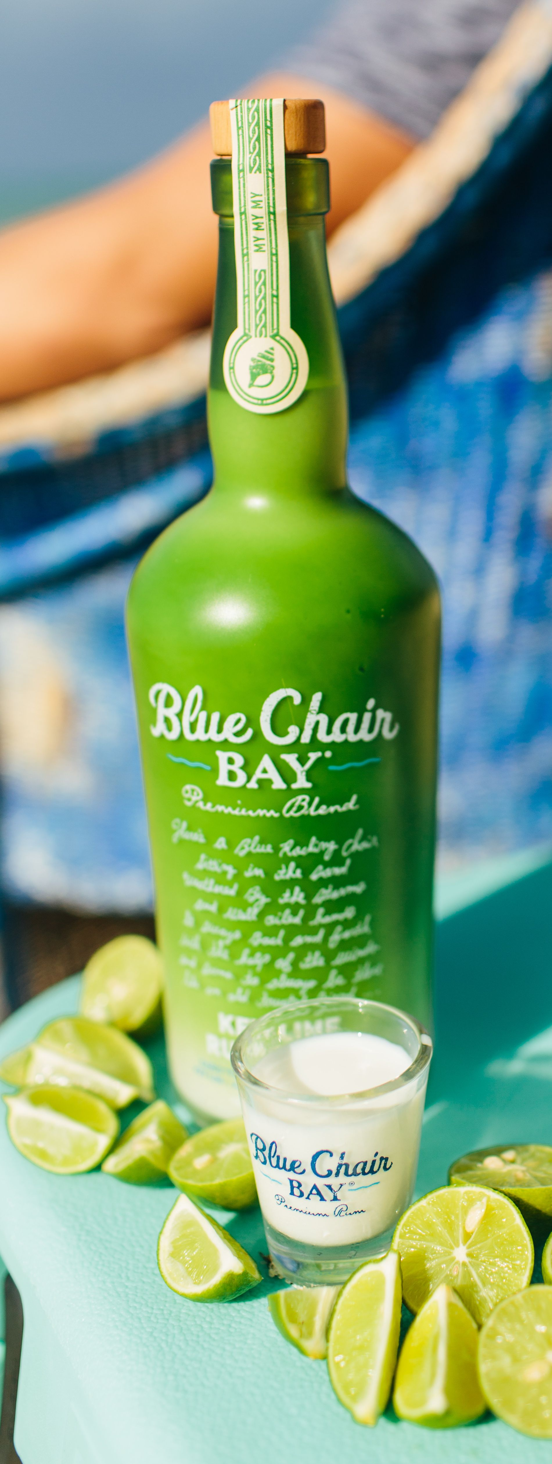 FUZZY LIME SHOOTER // 1 oz. Blue Chair Bay Key Lime Rum