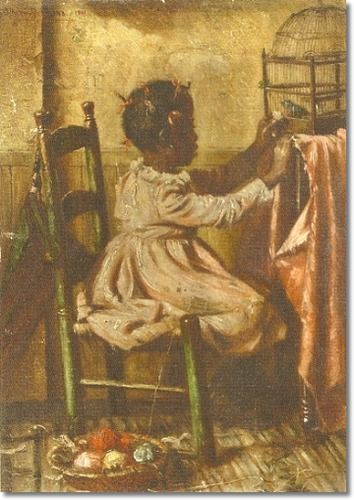 African American Art Posters | Ethnic African American Art Painting - Reproduction Print - Harry ...