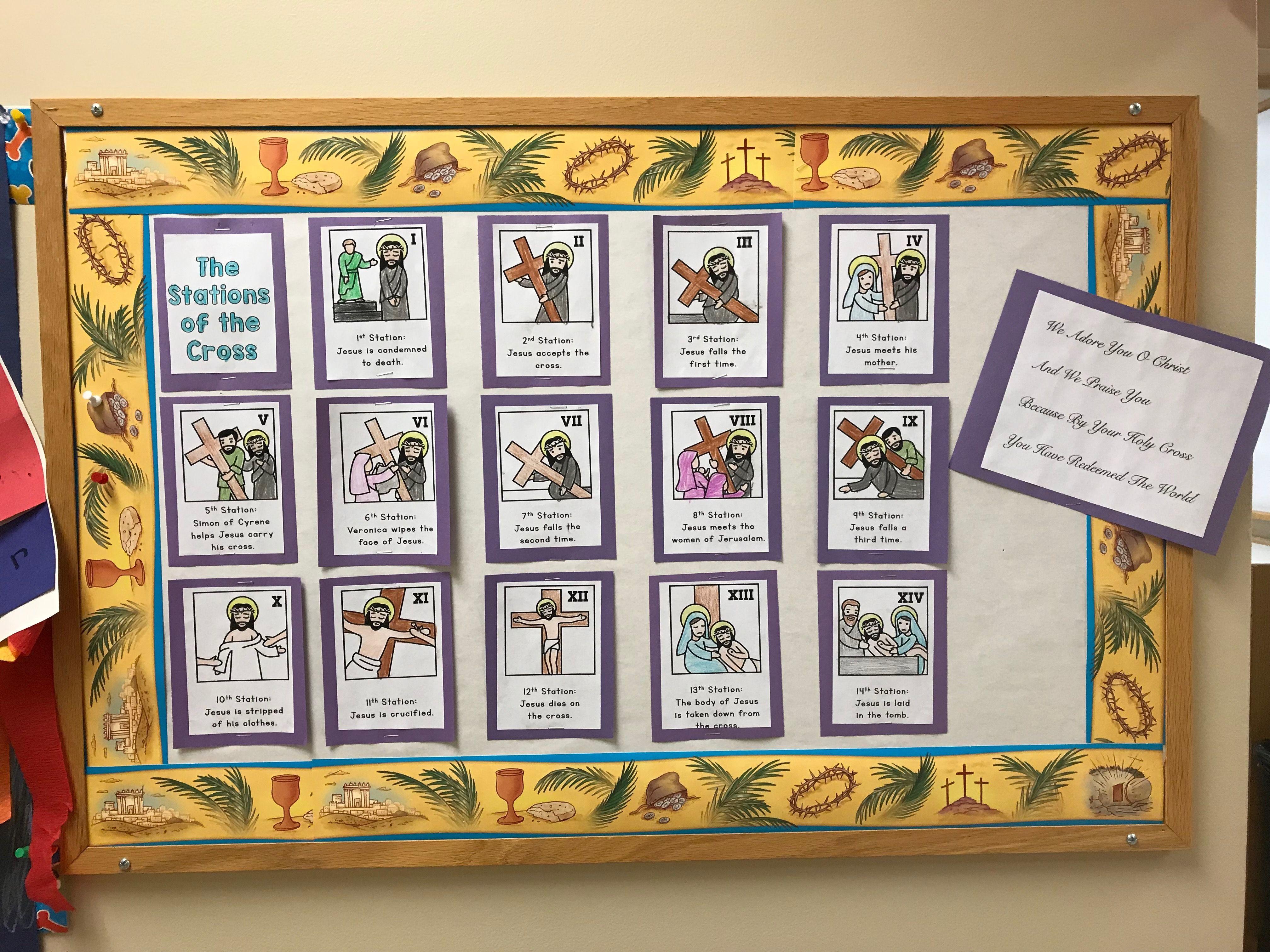Lenten Board 5s