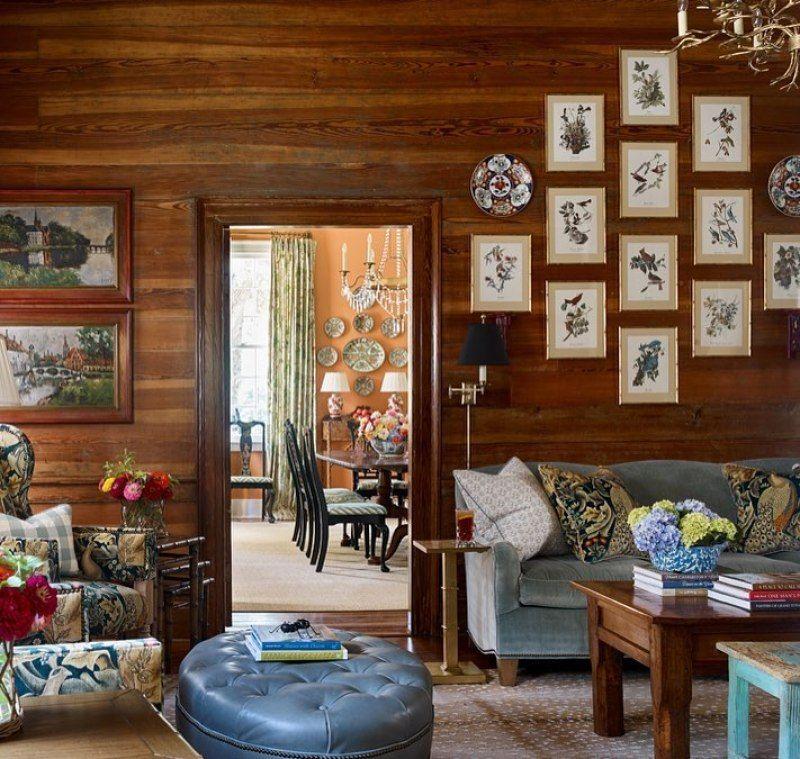 Southern Charm Living Room: Style Profile: James Farmer
