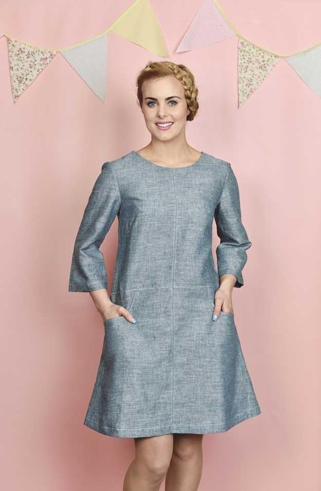 matilda everyday tunic from love sewing magazine | Stitchery ...