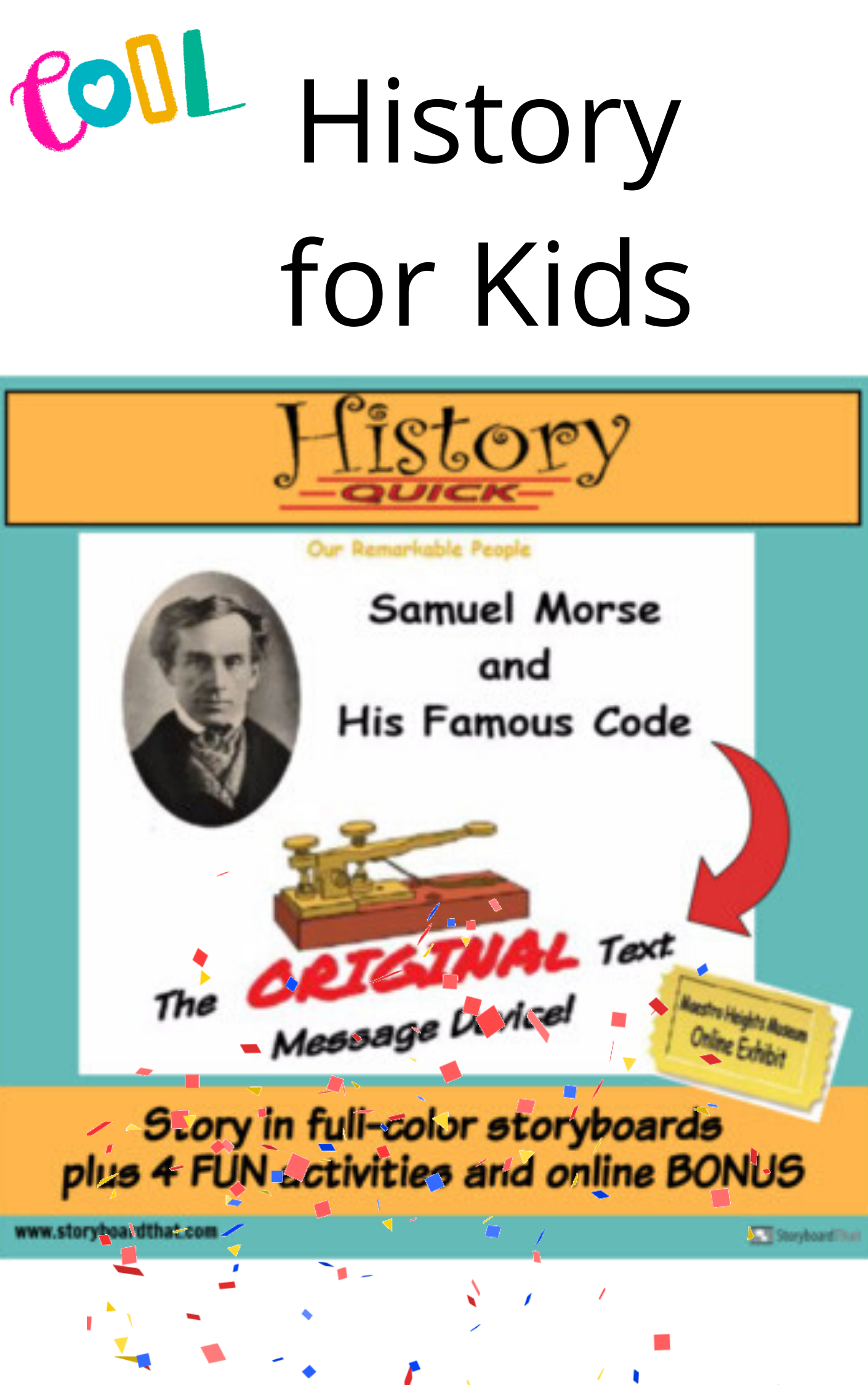 Morse Code For Kids In