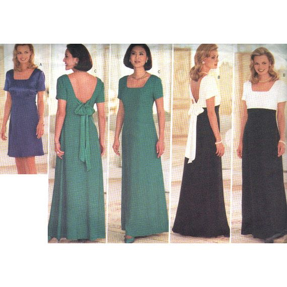 Butterick Sewing Pattern 4776 Misses'/Misses' Petite Dress Size: 6-8-10 Uncut