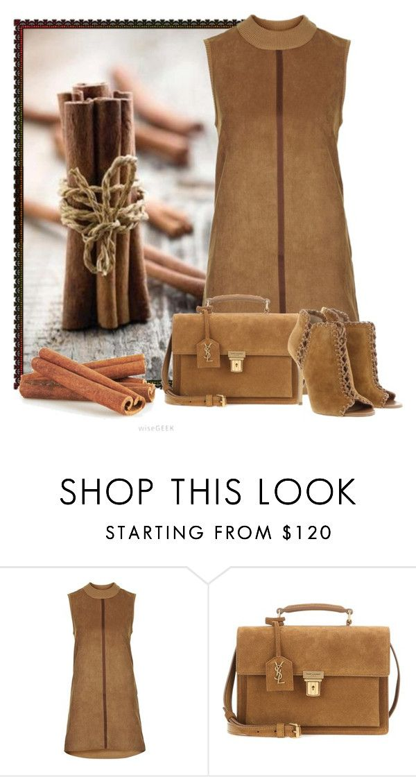 """""""Untitled #6011"""" by cassandra-cafone-wright ❤ liked on Polyvore featuring Topshop, Yves Saint Laurent and Michael Kors"""