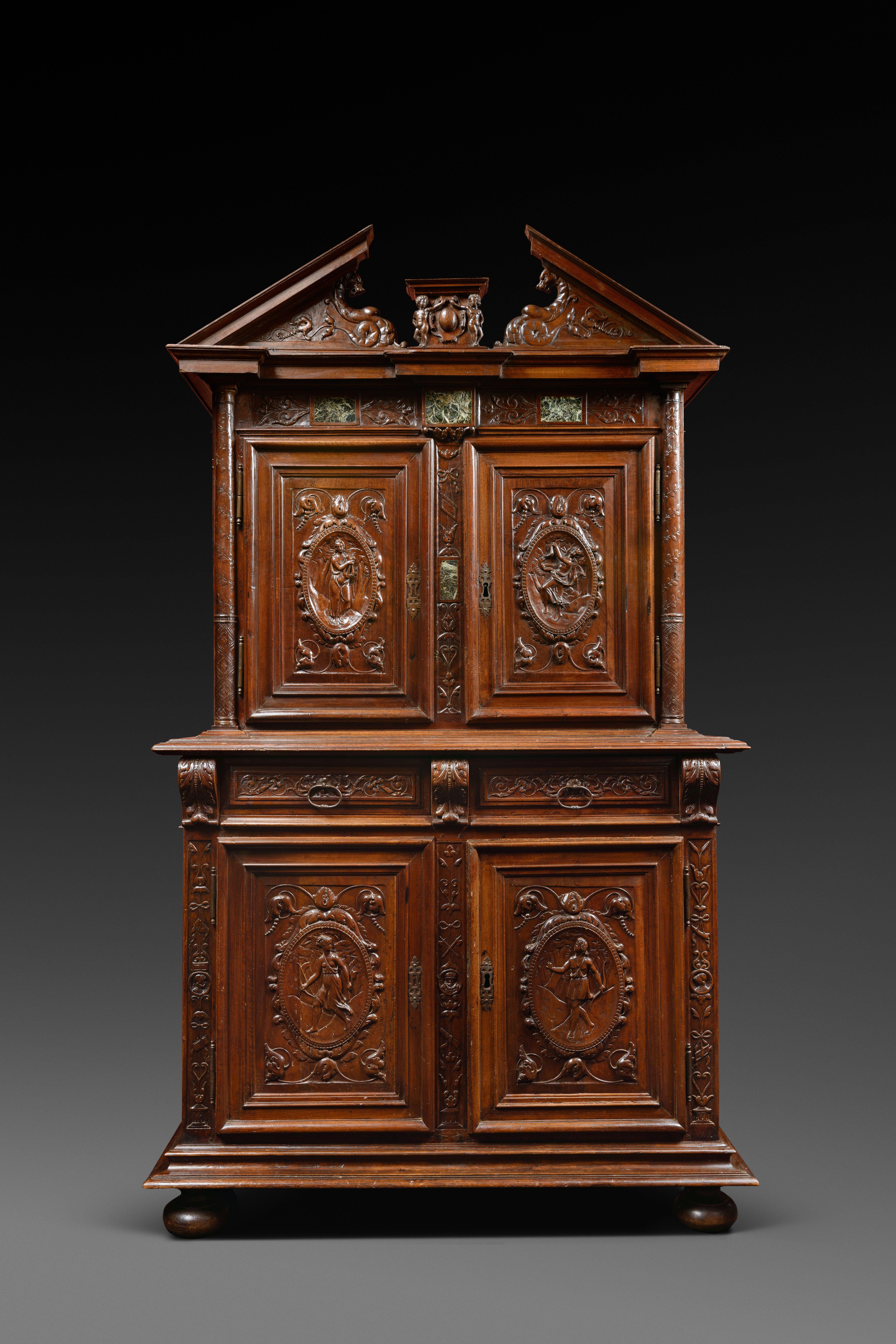 Meuble Ancien Style Henri 4 Épinglé sur mobilier > 16e siècle > france