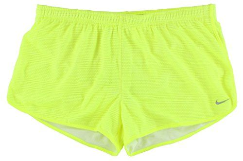 NIKE Nike Womens Burnout Running Short Neon Yellow. #nike #cloth #