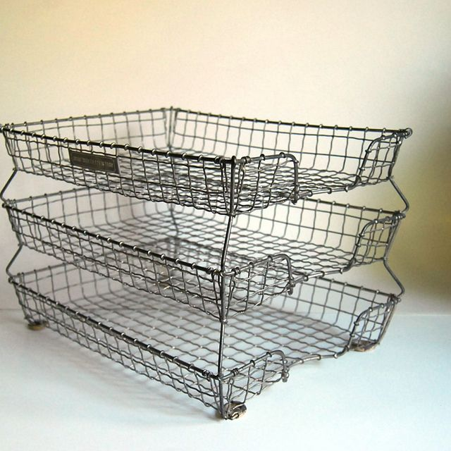 Vintage Acme Wire Letter Tray | Cool products | Wire letters