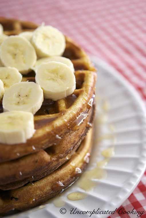 Healthy Waffles | Uncomplicated Waffles