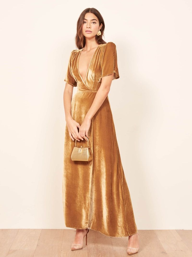 0bcf5e145a327 Get Ready for Party Season In A Velvet Dress | Dresses | Tiffany ...