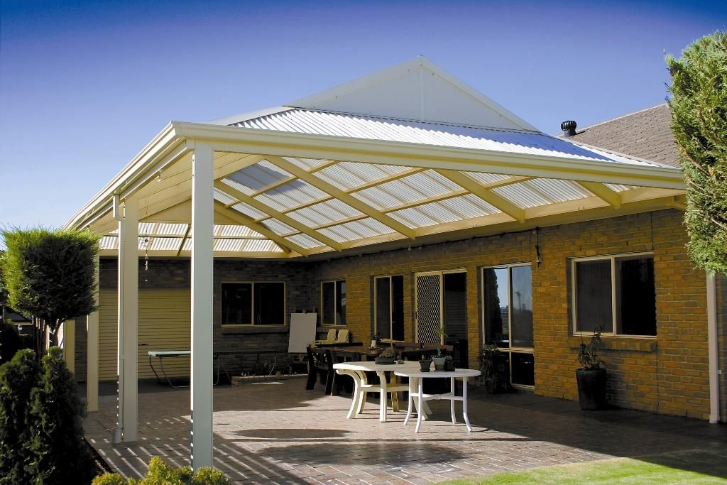 Awesome Patios Can Custom Design A Dutch Gable Awning.