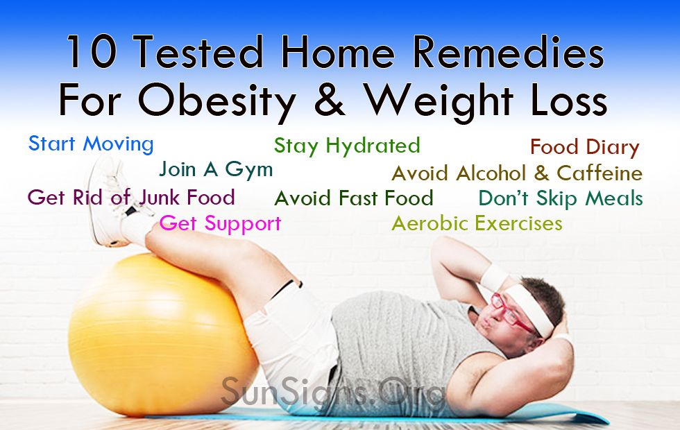 how to lose weight through home remedies