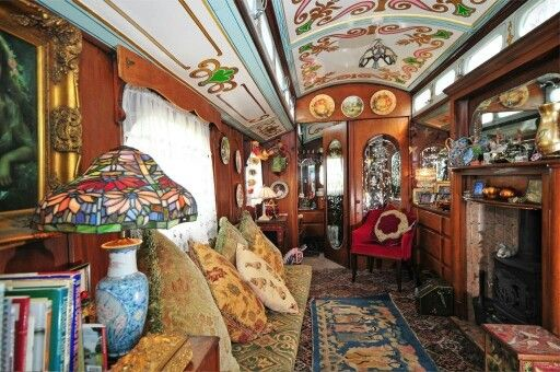 Gipsy woonwagen interieur | Romantic Bohemian | Pinterest | Gypsy ...