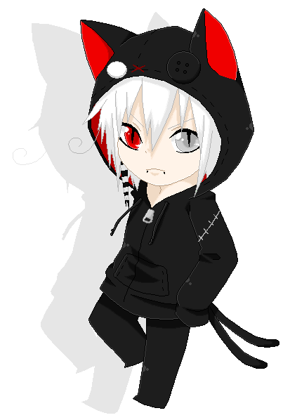 Anime For > Chibi Anime Boy With Hoodie | Chibi boy ...