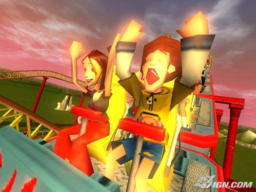 roller coaster tycoon 3 screen - rollercoaster-tycoon wallpaper