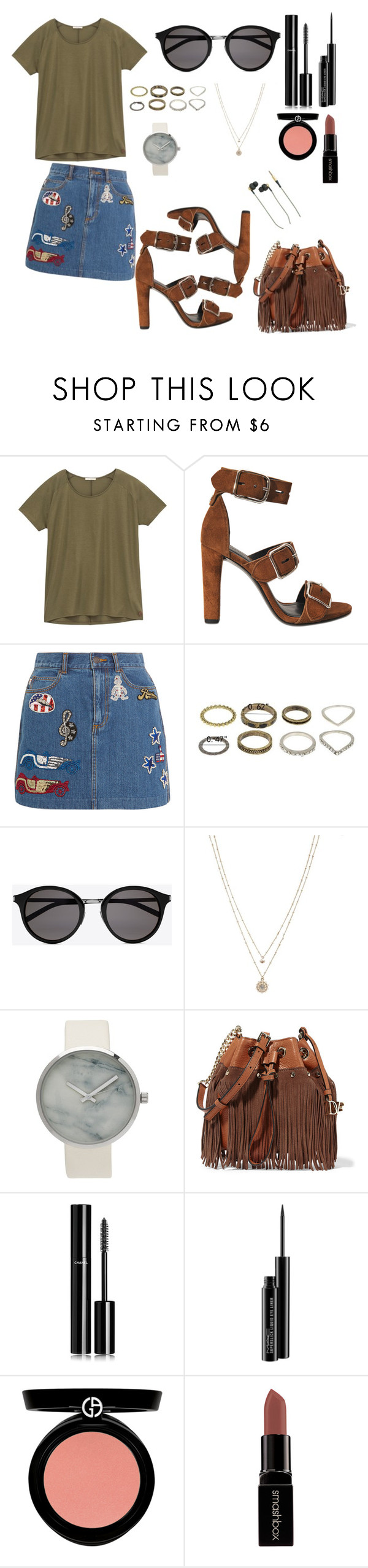 """""""Going To My Own Concert"""" by basak98 ❤ liked on Polyvore featuring Lee, Alexander Wang, Marc Jacobs, Yves Saint Laurent, LC Lauren Conrad, Diane Von Furstenberg, Chanel, MAC Cosmetics, Armani Beauty and Smashbox"""
