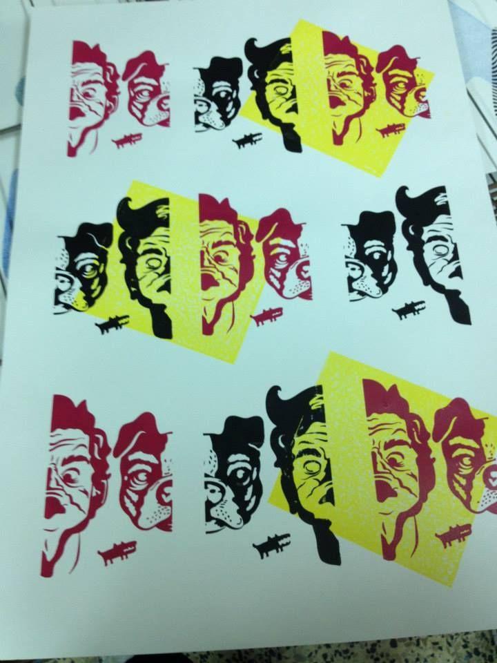 Stencil/Serigrafia/Monoimpressão