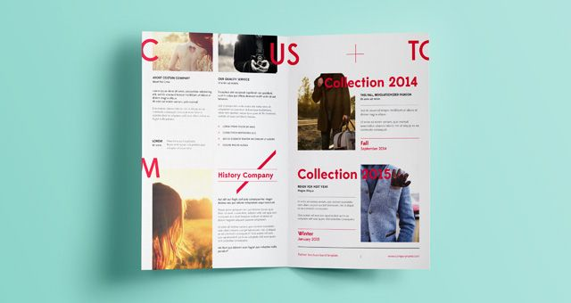 Pin By Ekaterina Zotova On     Mock Up Brochures
