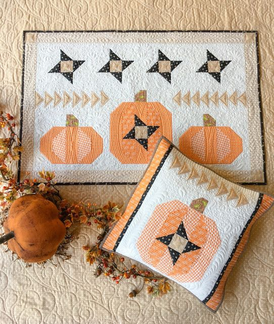 Carried Away Quilting Fall Quilts Quilted Wall Hangings Halloween Quilts