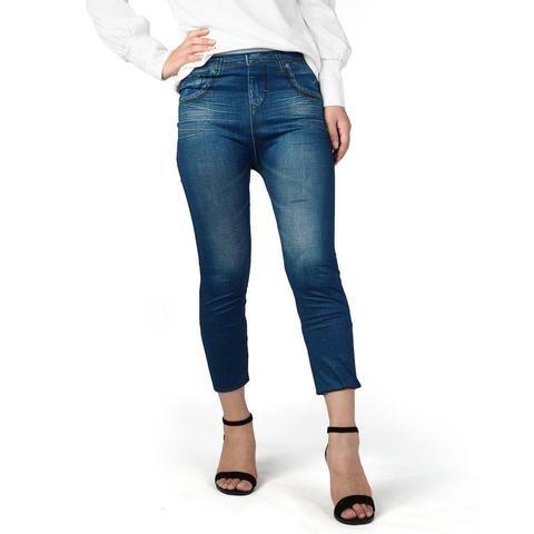 637f9aae243d0 High Waist Lady Denim Sexy slim Pencil Jeans Pants Seamless Women Skinny  Stretch Jeans Slim Jeans Leggings Skinny Pants