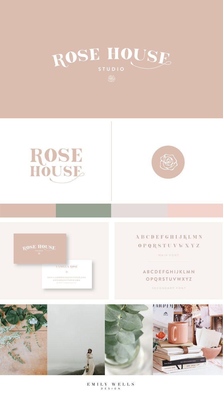 Awe Inspiring Rose House Studio Emily Wells Design Brand Design For Home Interior And Landscaping Pimpapssignezvosmurscom