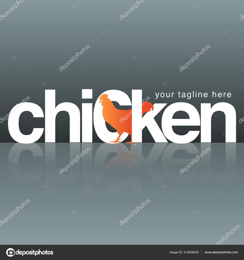 Download Vector modification of chicken letters as a