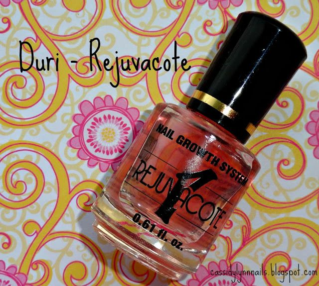 Cassidy Lynn Nails - recommended base coat: Duri - Rejuvacote | Nail ...
