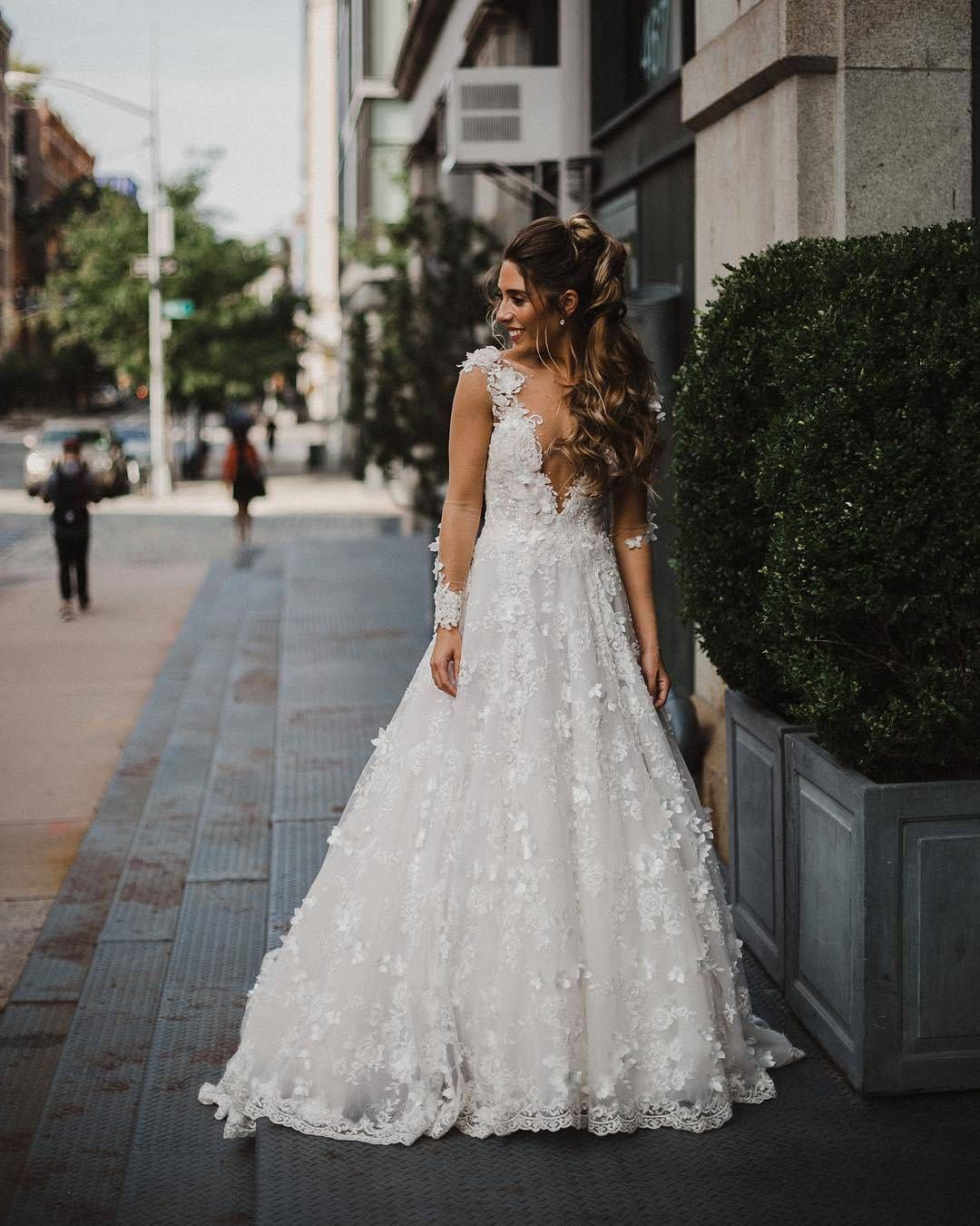 The most romantic wedding dress you will ever see the arabella