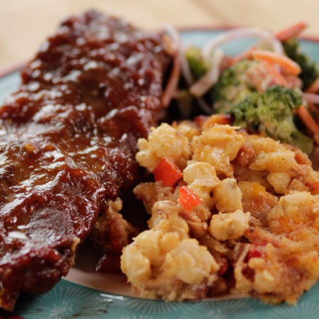 Sticky Spicy Slow-Cooked Ribs By Ree Drummond
