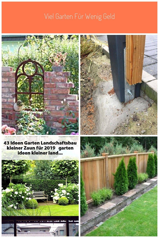 Im Trend Eine Ruine Als Gartendeko Kleiner Zaun Viel Garten Fur Wenig Geld Garten Deko Landschaftsbau Garten