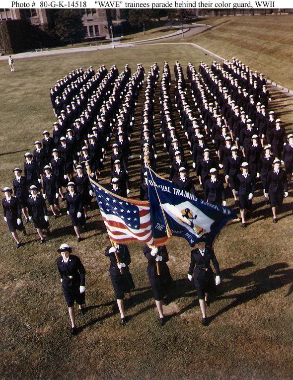 U.S. Naval Training Center, Women's Reserve, The Bronx, New York ...