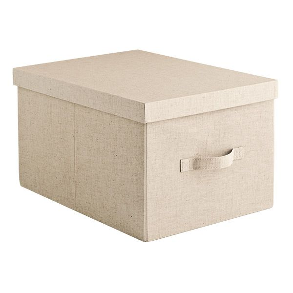 Superieur Linen Storage Box   Great For Sweaters, Crafts, Mementos.