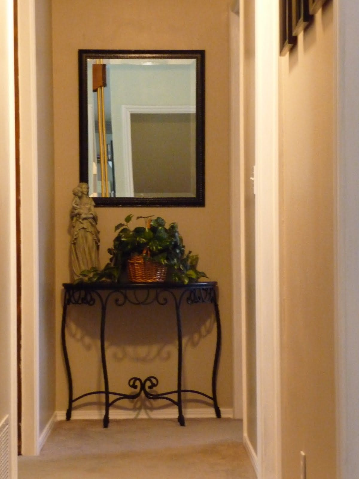 Mirror In Hallway end of hallway | for the home | pinterest | house, living rooms