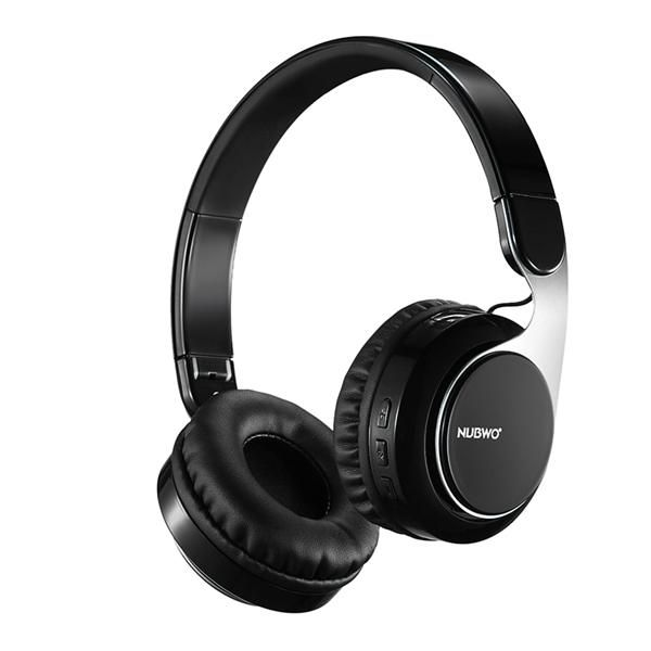 9cc734b6008 Wallmart.win NUBWO S8 Adjustable-Headbrand Foldable AUX Heavy Bass Stereo  Bluetooth Headphone With