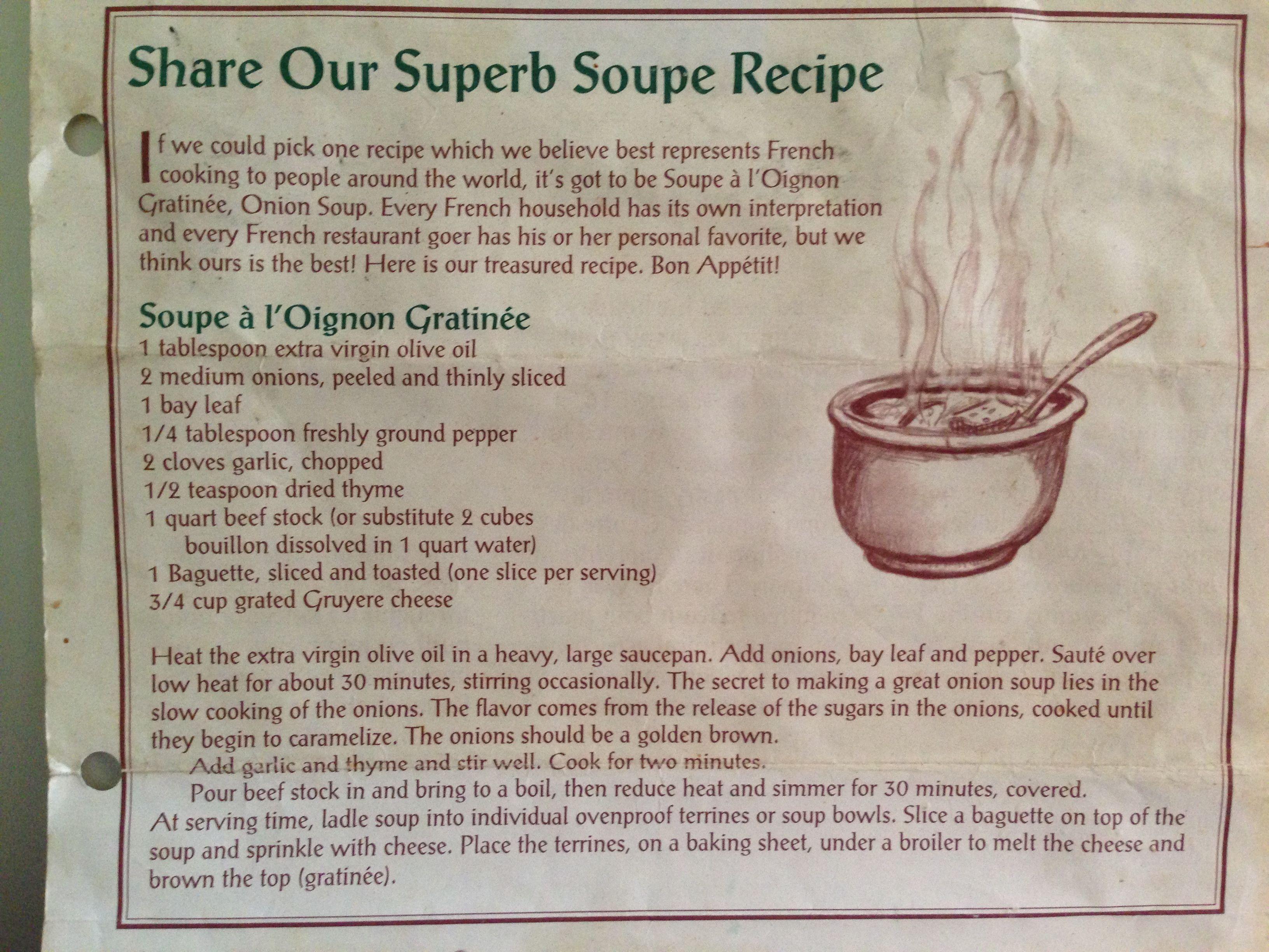 La Madeleine S French Onion Soup French Onion Soup Recipe French Onion Soup Madelines Recipe