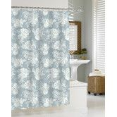 Found it at Wayfair - Shells - Cortina Cotton Shower Curtain