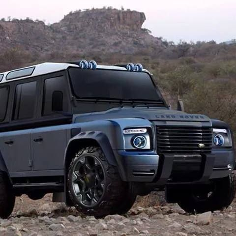 Muscle Defender Land Rover Defender Land Rover New Land Rover