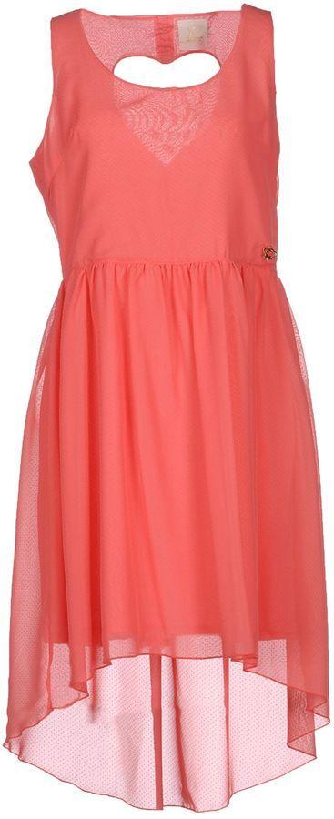 MAISON ESPIN Short dresses