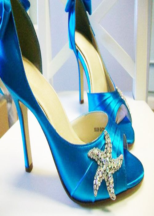 1000  images about Blue heels on Pinterest | High heels sandals ...