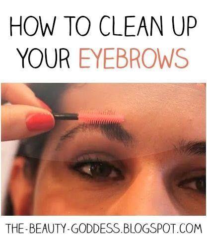 How to Fix Over-Tweezed Eyebrows #BeautyDiyHacks # ...