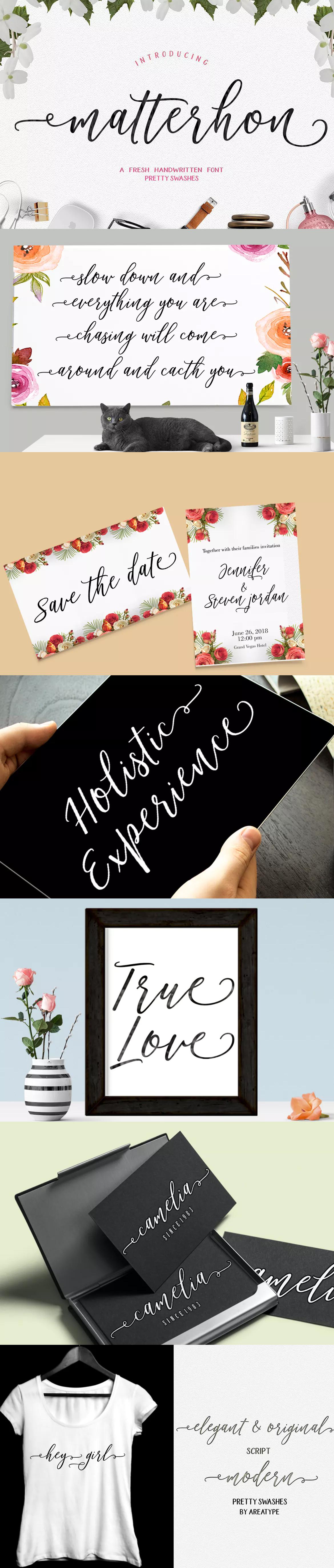 Matterhon Script font (With images) Cool fonts, Happy