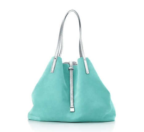 1f2914a09a Tiffany reversible tote in Tiffany blue & silver. #tiffany | All ...